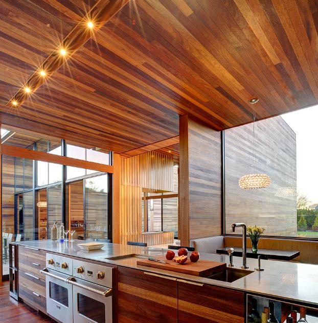 кухня 7 квадратов с вагонкой