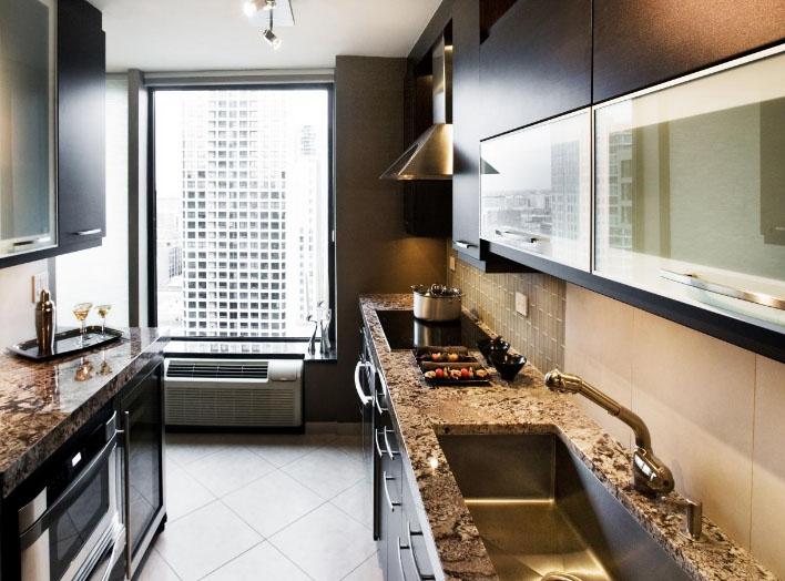 продолговатая кухня