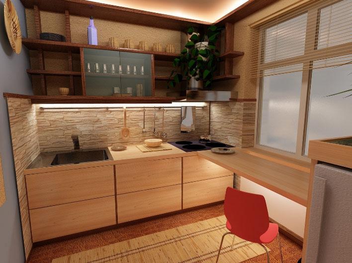 Кухня для небольшого помещения