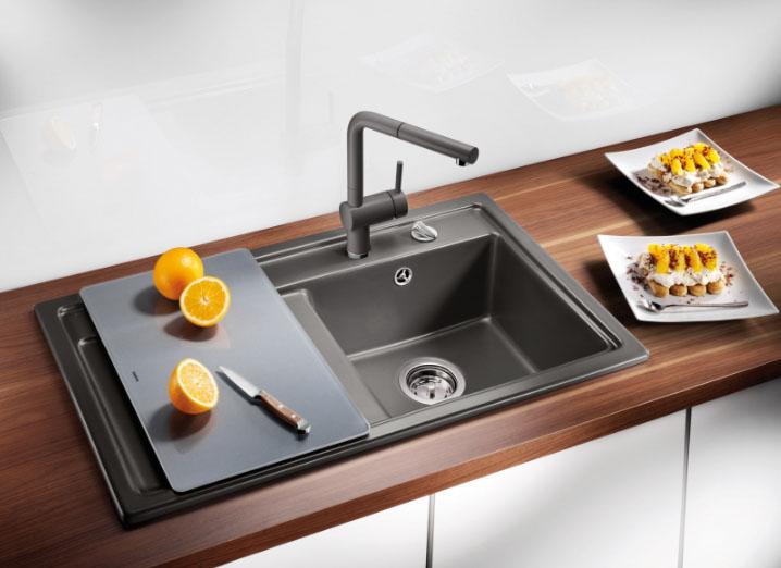 Кухонная мойка Blanco идеально подходит к современному дизайну
