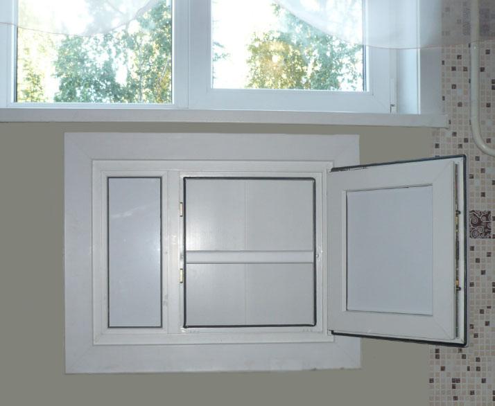Ниша- холодильник под окном - это удел хрущевки
