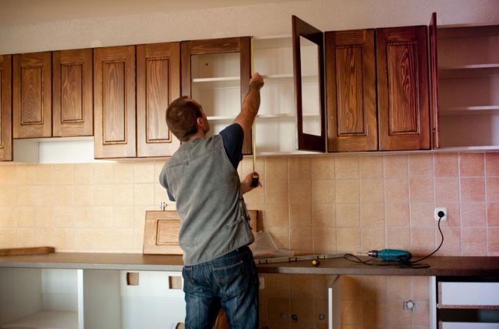 Обновление кухонного гарнитура своими руками