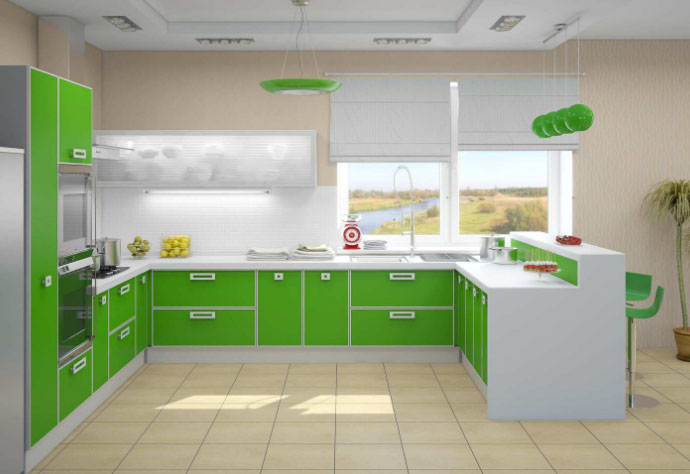 Обновленная кухня смотрится всегда как новая