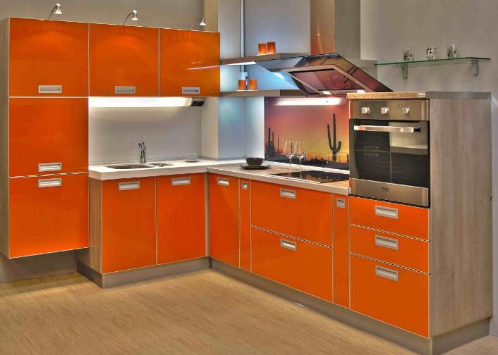 Оранжевый гарнитур