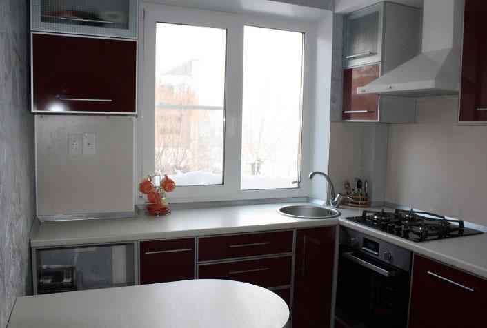 Ремонт кухни 6 квадратов