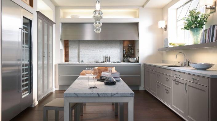 Ремонт современной кухни 6 квадратов