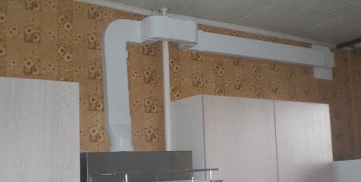 вентиляционный короб в квартире