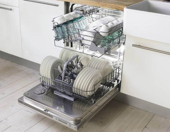 красивая посудомоечная машина