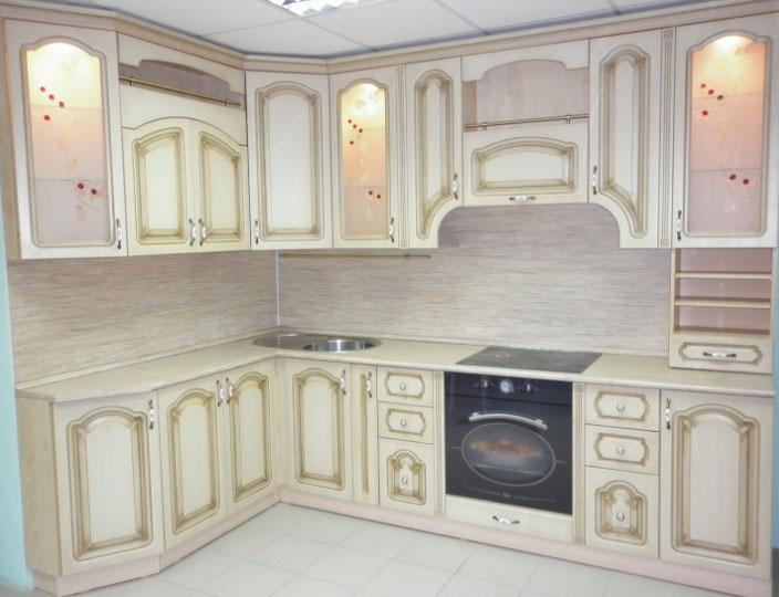 патинированная кухня