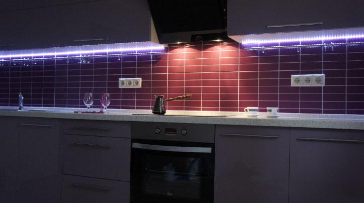 удобные розетки на кухне