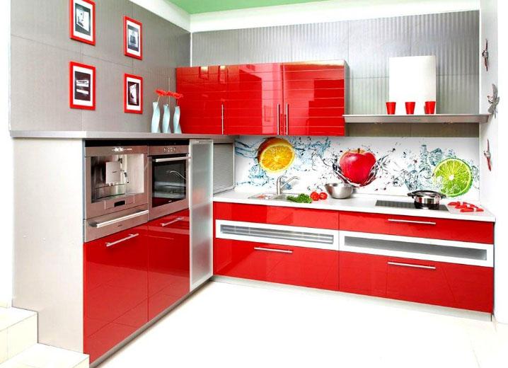 фотопанно для кухни из стекла