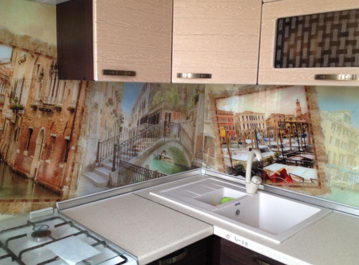 фотопанно для простой кухни