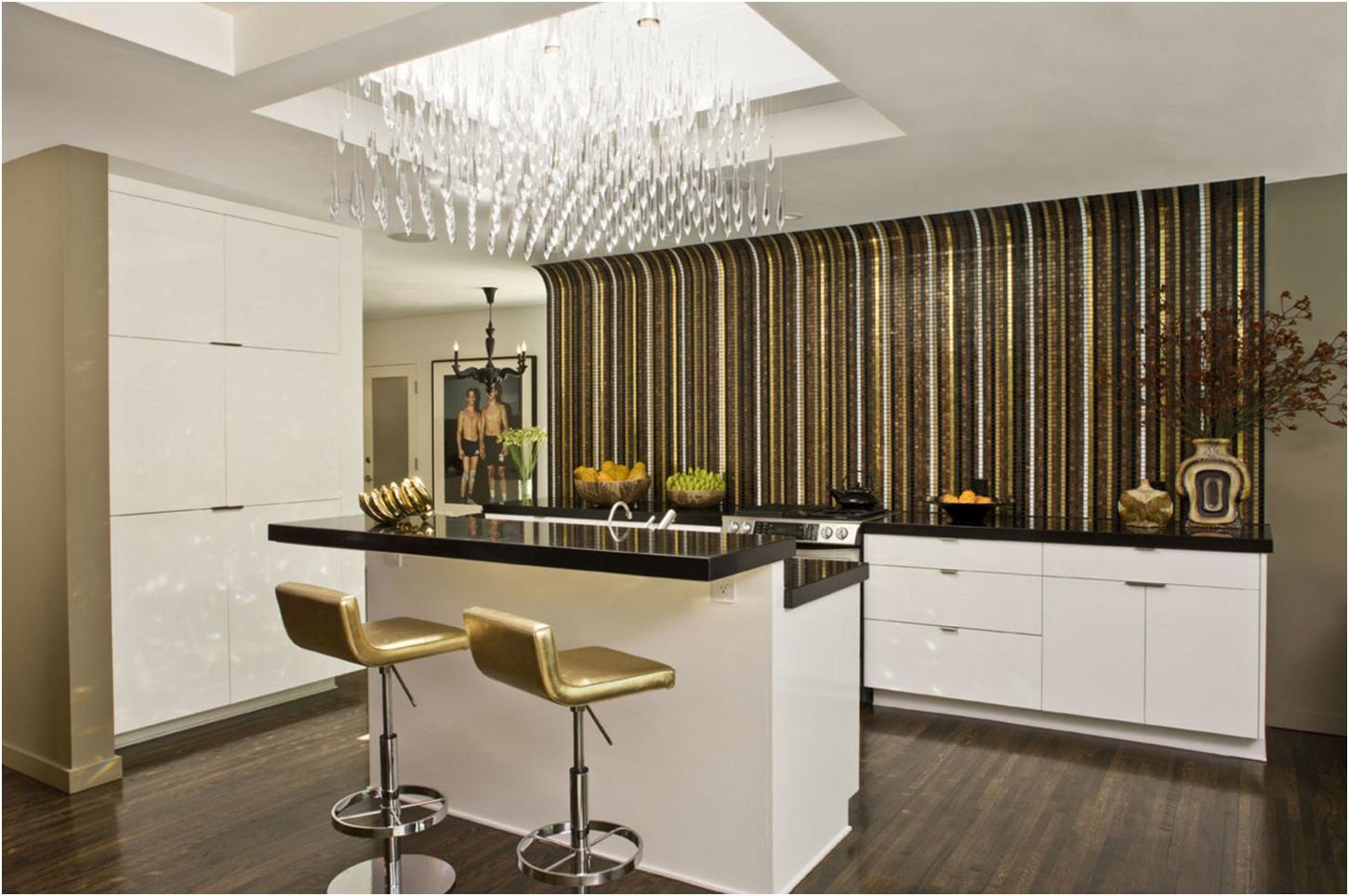 Кухни без верхних шкафов (45 фото).