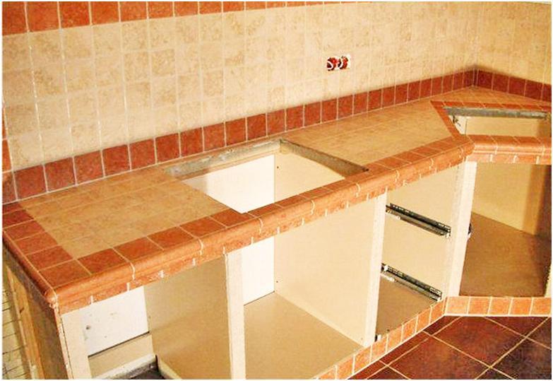 как положить плитку если встроенная кухня подобранное термобелье