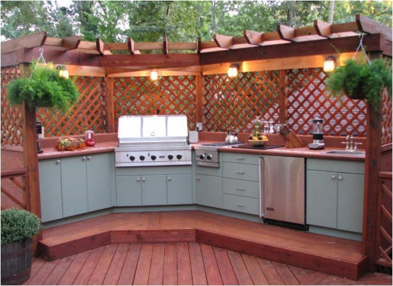 Летние кухни на даче дизайн
