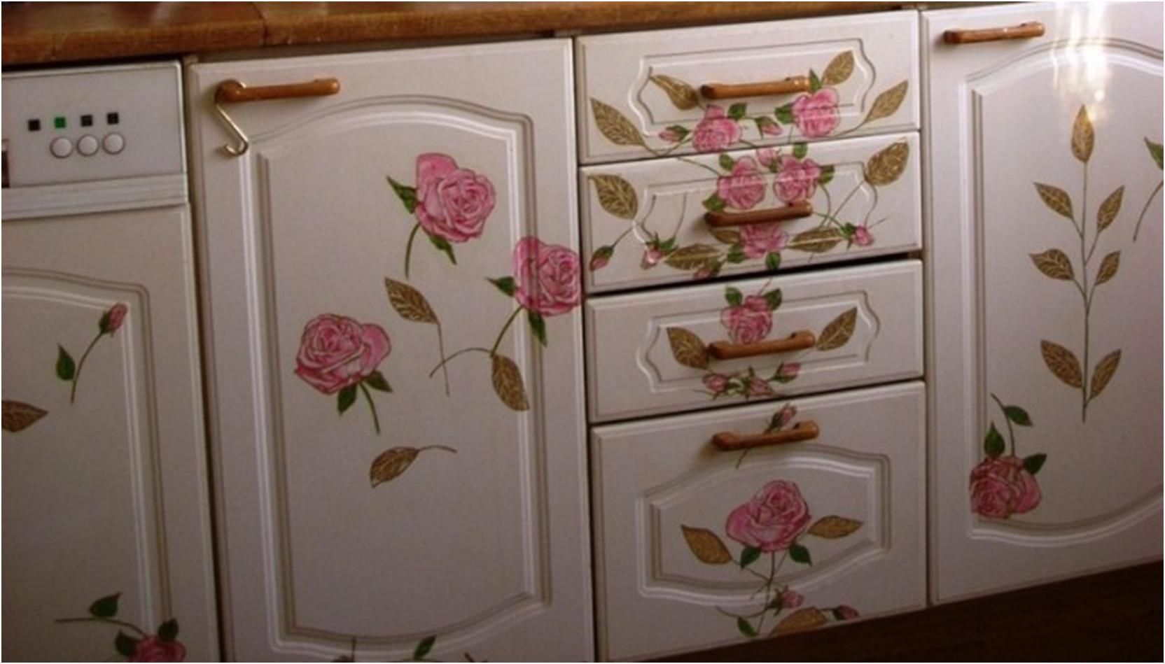 Реставрация кухонного гарнитура: как обновить старую кухню своими руками 40