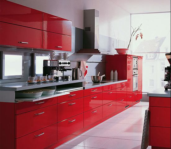 36ff736adf2bd133fc4cb3b12afdbafc--red-kitchen-cabinets-kitch