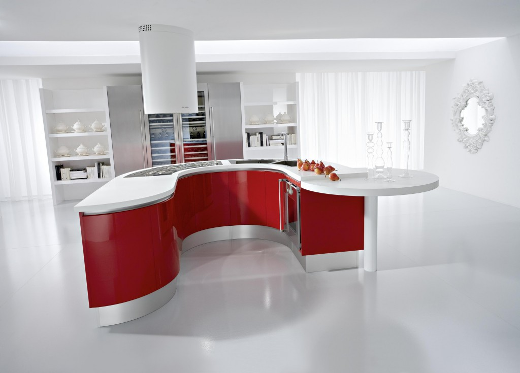 red-white-kitchen
