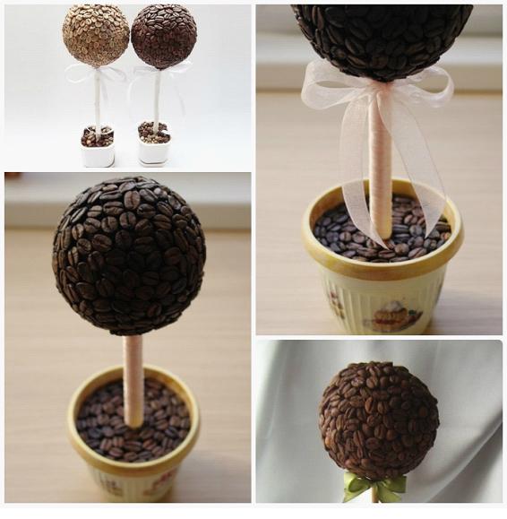 Кофейные деревья своими руками пошаговая инструкция