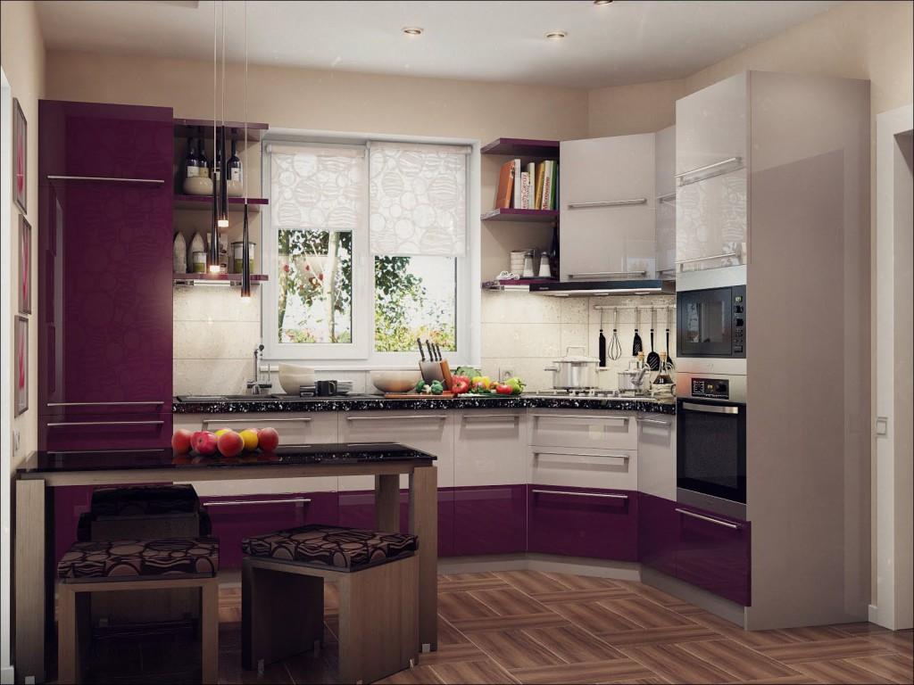 Фото угловой кухни интерьер