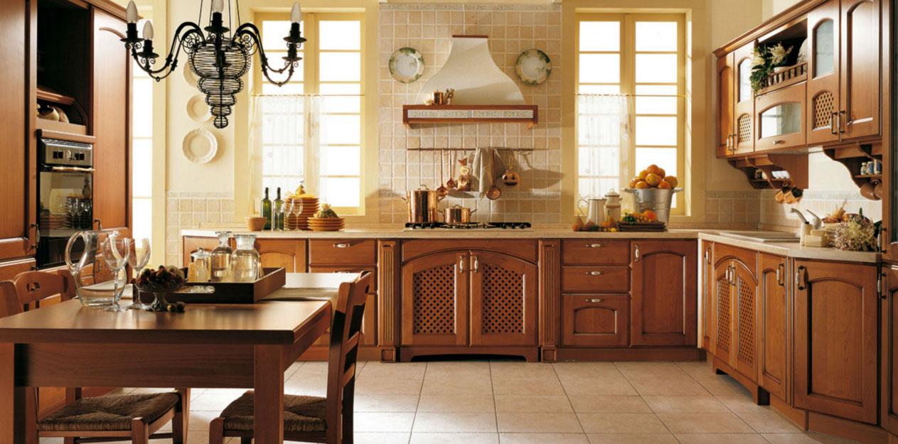 Дизайн кухни стиля классика