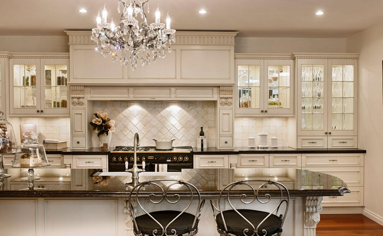 Цвета на кухне классического стиля