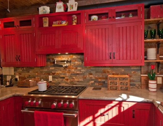 fb37f02b7c23948a88bcd87488dd9b6c--red-country-kitchens-count