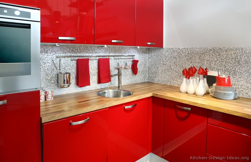 кухня-шафы-сучасны чырвоны-021-s19602868-малыя ракавіны