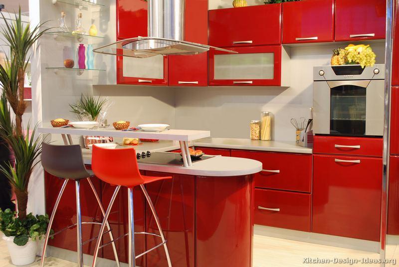 кухня-шафы-сучасны чырвоны-026-s46564024x2-паўвостраў-seatin