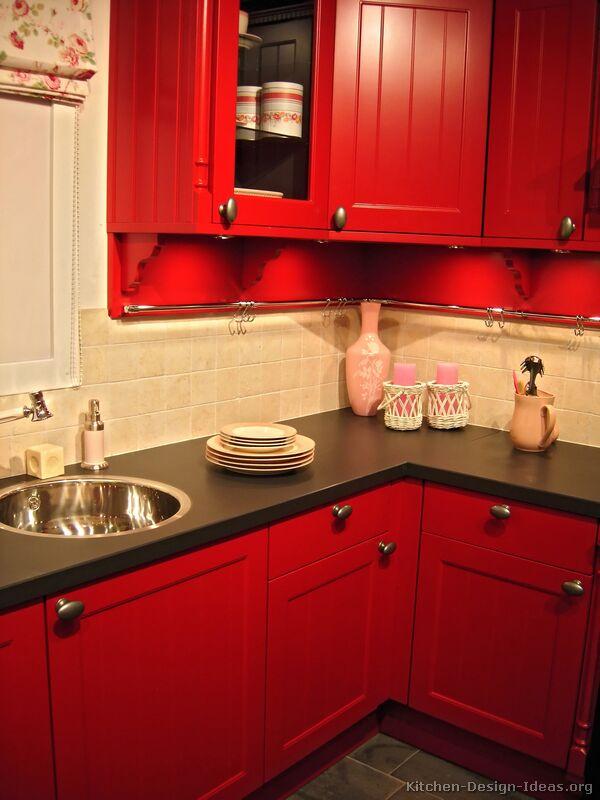 кухня-шафы-традыцыйны чырвоны-001-s2076707-плітка-backsplas