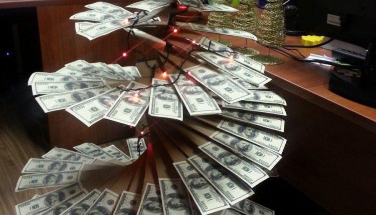 денежная елка
